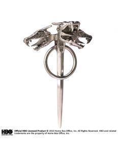 Broche Dragón Tricéfalo de Danaerys Targaryen -  Juego de Tronos