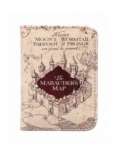 Carterita para carnet Mapa del Merodeador - Harry Potter