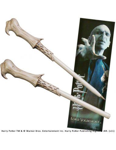 Bolígrafo y Marcapáginas Lord Voldemort - Harry Potter