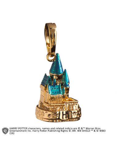 Charm Castillo Hogwarts Dorado Colección Lumos - Harry Potter
