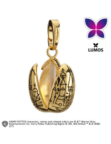 Charm Huevo Dorado Colección Lumos - Harry Potter