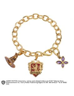 Pulsera de amuletos Lumos Gryffindor - Harry Potter