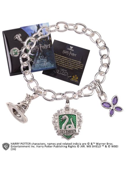 Pulsera de amuletos Lumos Slytherin - Harry Potter