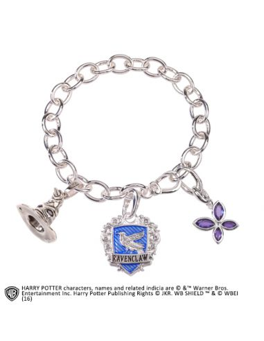 Pulsera de amuletos Lumos Ravenclaw - Harry Potter