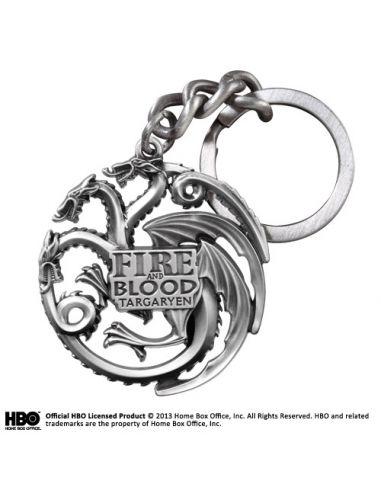 Llavero Targaryen Metálico Mate - Juego de Tronos