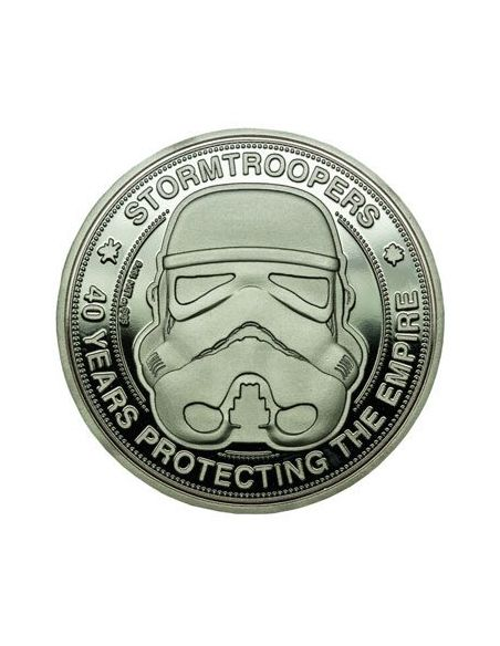 Moneda Star Wars 40 Aniversario Edición Limitada - Star Wars