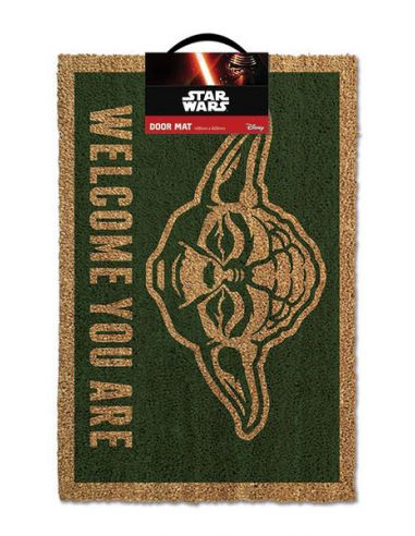 "Felpudo Yoda ""Wellcome you are"" - Star Wars"