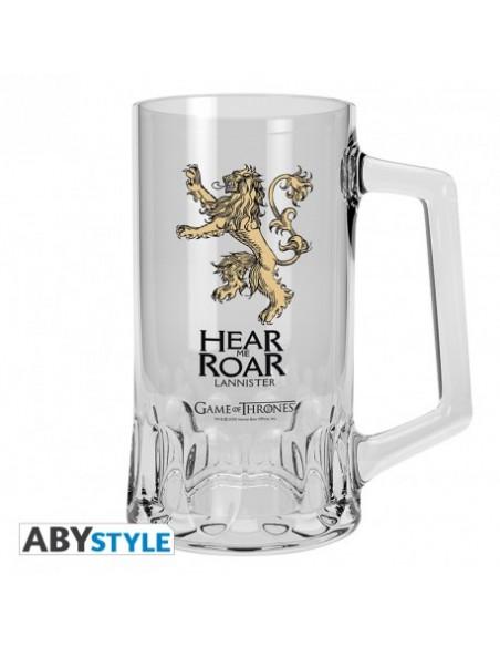 Jarra de Cerveza escudo Lannister - Juego de Tronos