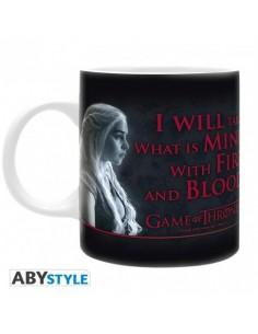 Taza Daenerys Fuego y Sangre - Juego de Tronos
