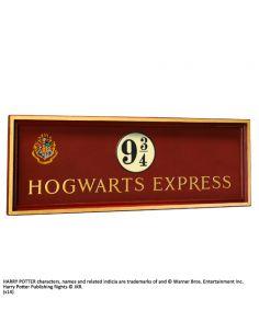 Placa de Madera Hogwarts Express - Harry Potter