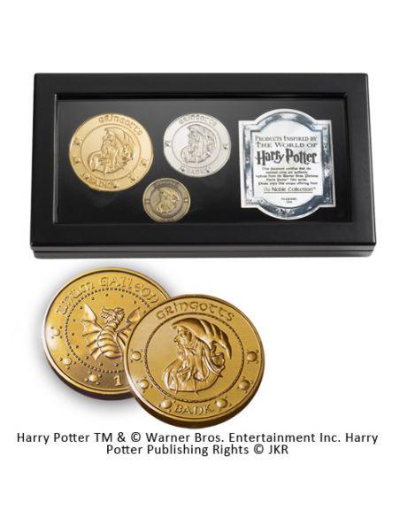 Réplica Monedas de Gringotts - Harry Potter