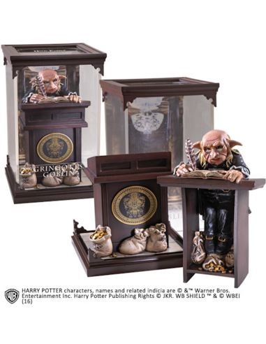 Figura Duende de Gringotts Criaturas Mágicas - Harry Potter