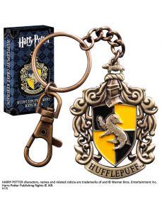 Llavero Metálico escudo Hufflepuff - Harry Potter