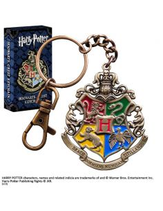 Llavero Metálico escudo Hogwarts - Harry Potter