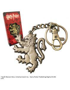Llavero metálico con mosquetón Gryffindor - Harry Potter
