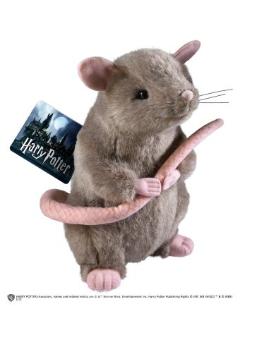 Peluche rata Scabbers - Harry Potter