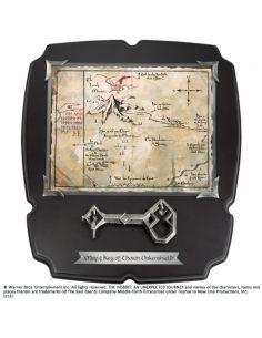 Mapa y Llave de Erebor - El Hobbit