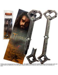 Bolígrafo Thorin escudo de Roble y Marcapáginas - El Hobbit
