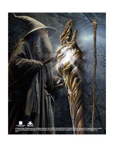 Bastón luminoso Gandalf El Gris escala 1:1 - El Hobbit