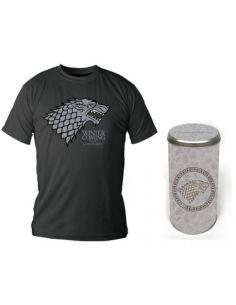 Camiseta enlatada casa Stark XXL - Juego de Tronos