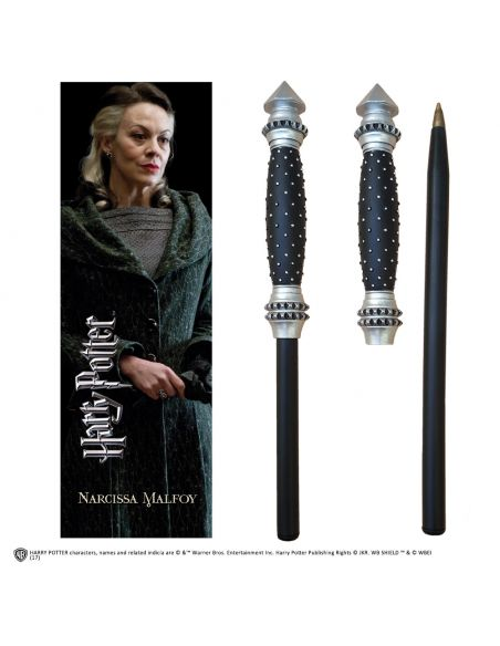 Bolígrafo y Marcapáginas Narcissa Malfoy - Harry Potter