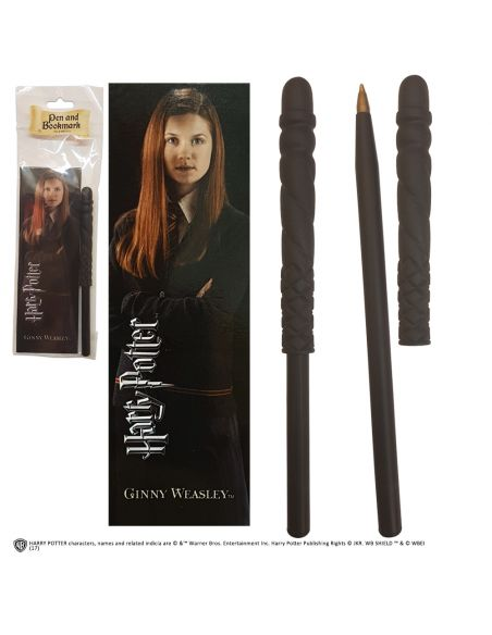 Bolígrafo y Marcapáginas Ginny Weasley - Harry Potter