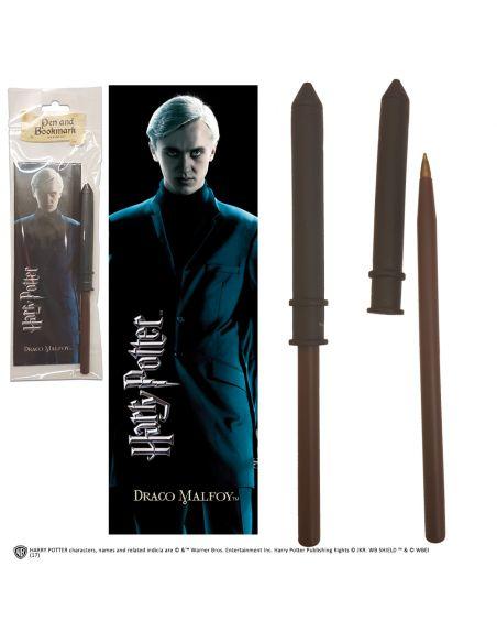Bolígrafo y Marcapáginas Draco Malfoy - Harry Potter