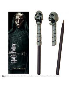 Bolígrafo y Marcapáginas Mortífago - Harry Potter