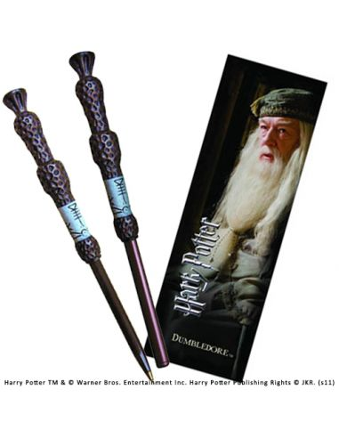 Bolígrafo y Marcapáginas Dumbledore - Harry Potter