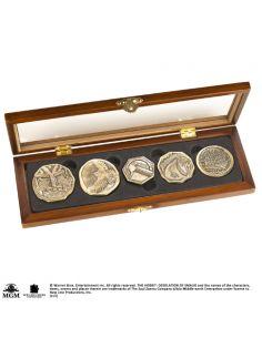 Colección de Monedas El Tesoro de los Enanos - El Hobbit