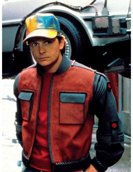 Réplica Gorra de Marty McFly - Regreso al Futuro II
