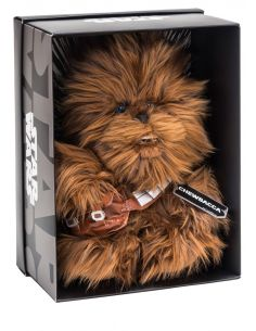 Peluche Black Line Chewbacca 25 cm - Star Wars