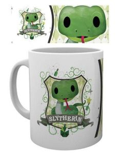 Taza kawaii Slytherin - Harry Potter