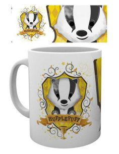 Taza kawaii Hufflepuff - Harry Potter