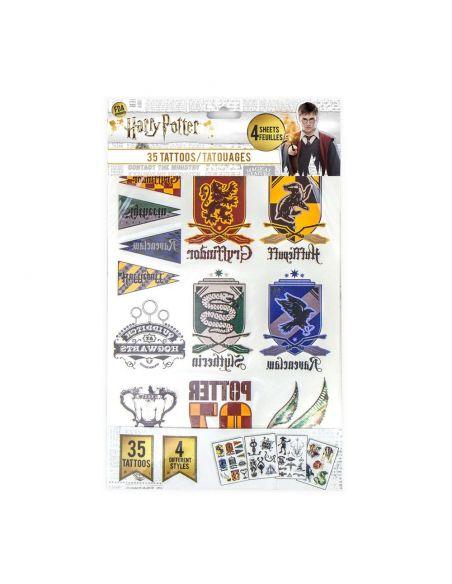 Pack 35 Tatuajes Temporales - Harry Potter