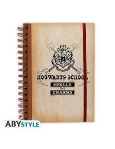 Libreta escudo Hogwarts - Harry Potter