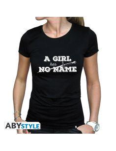 Camiseta A Girl has no Name - Juego de Tronos