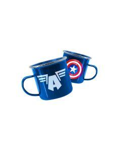 Taza aluminio Capitán América - Marvel
