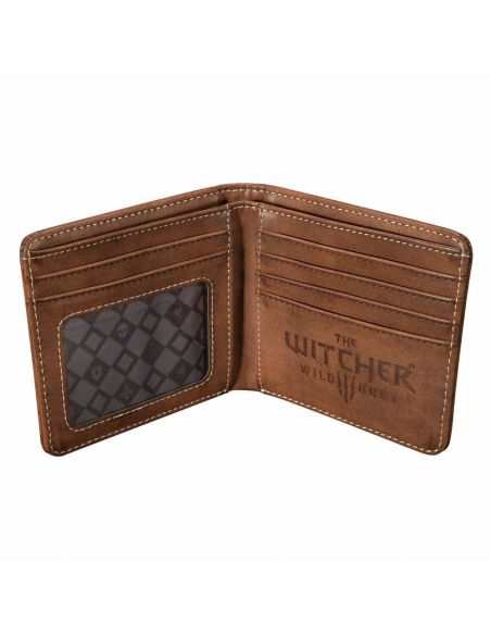 Cartera emblema Lobo - The Witcher