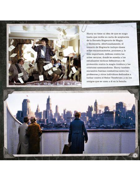 Las Artes Oscuras un Álbum de las películas - Harry Potter