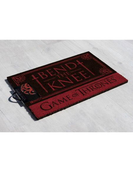 Felpudo Bend the Knee - Casa Targaryen - Juego de Tronos
