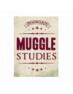 Placa Metálica Studies - Harry Potter