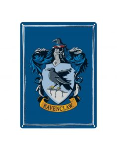 Placa Metálica Ravenclaw - Harry Potter