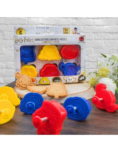 Cortadores para Galletas Kawaii - Harry Potter