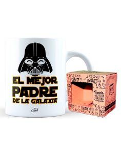 Taza El Mejor Padre De La Galaxia - Star Wars