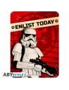 Placa metálica Imperio Galáctico - Star Wars