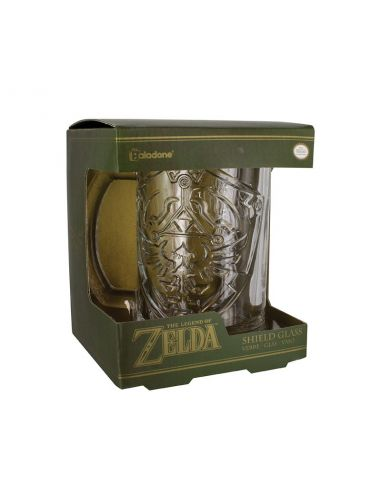 Jarra de Cerveza escudo Link - The Legend of Zelda
