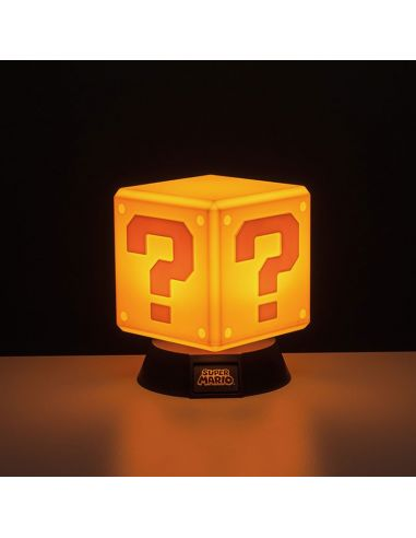 Mini Lámpara Bloque ? 3D - Mario Bros