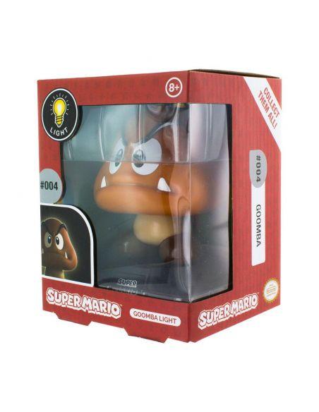 Mini Lámpara Goomba 3D - Mario Bros