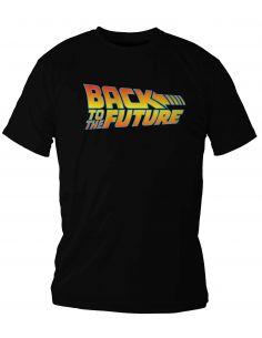 Camiseta logo Regreso al Futuro